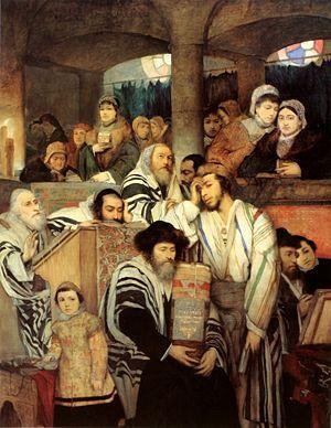 Evrei i sinagoga