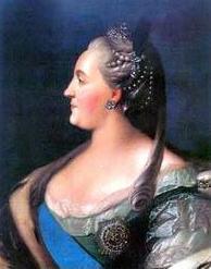 Ekaterina  Vtoraya Sekond Russian Queen