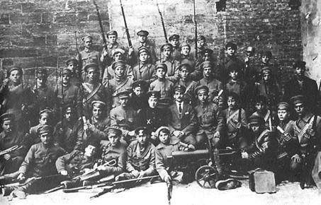Отряд еврейской самообороны. Одесса, 1918 год.